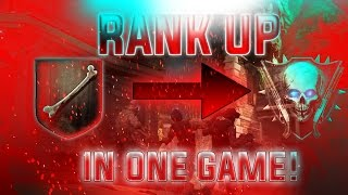 How To Get Max Rank In One Game in BO2! 2017 *SOLO* {Black ops 2 Zombies Glitch Gain Tons Of XP}