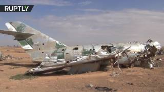 RAW  Airbase near ISIS stronghold captured by SDF
