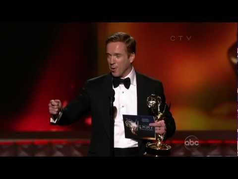 Damian Lewis wins Outstaning Lead Actor in a Drama Series at the 2012 Emmys 23 September 2012