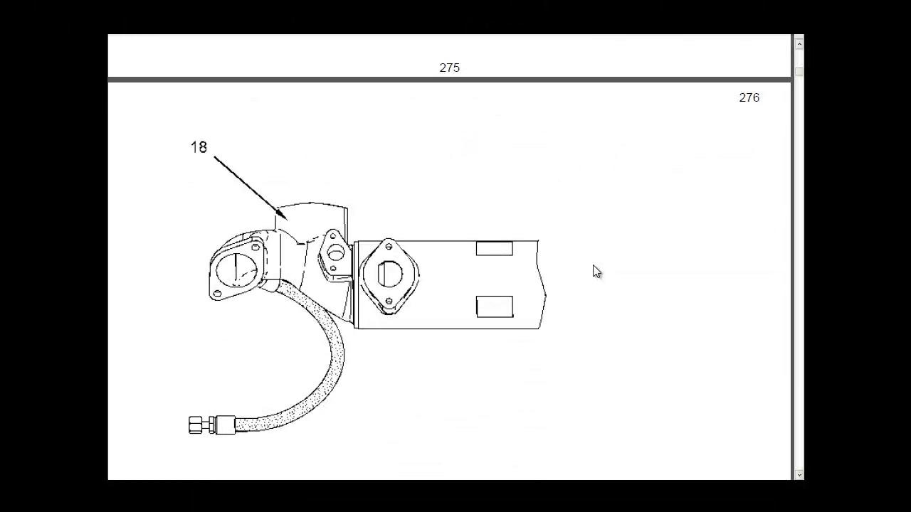 Engine, repair parts catalogue, electronic catalogue