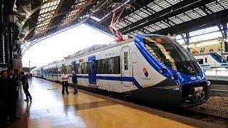Arrancó servicio de Metrotrén Nos - Santiago