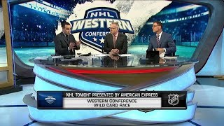NHL Tonight:  Western Wild Card:  The race for the Western Conference Wild Cards  Mar 22,  2019