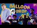 WILLNE VISITS AJ SHABEEL, SPECS & PK HUMBLE AT HOME AS THEY PLAY BALLOON DROP