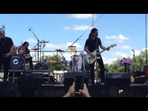 Chris Perez Band performing