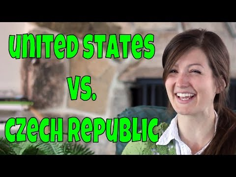 Some differences between the United States and Czech Republic