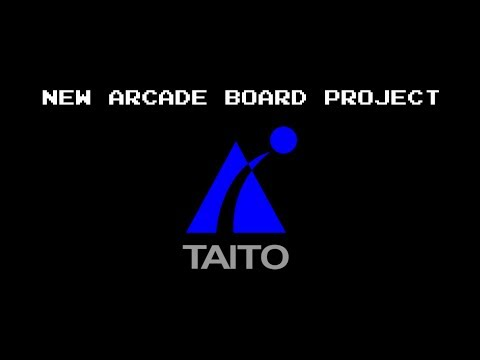 New Arcade Board Project - TAITO F3