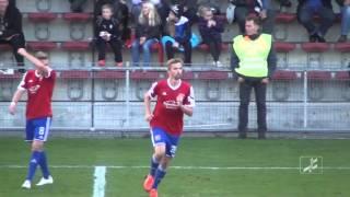 SpVgg Unterhaching - Viktoria Aschaffenburg (Regionalliga Bayern 15/16, 16. Spieltag)