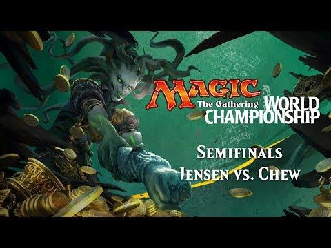 2017 Magic World Championship Semifinals (Standard): William Jensen vs. Kelvin Chew