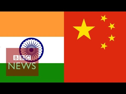 India vs China in 60 seconds - BBC News