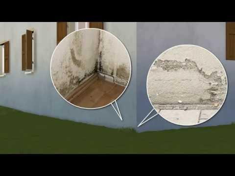 Interessant Trockenlegung Mauerwerk durch Injektion - YouTube OT49