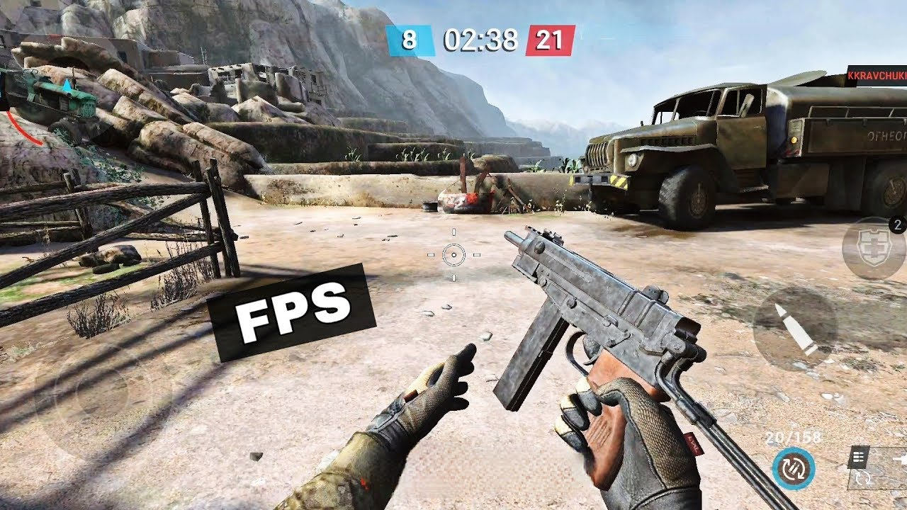 Top 8 Best Fps Games For Android Ios 2020 Youtube