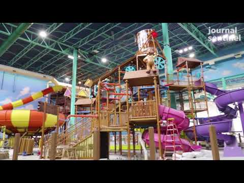 Video: Great Wolf Lodge nearing completion