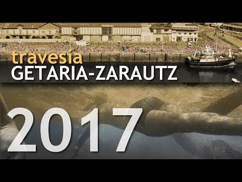 Travesía Getaria Zarautz 2017 desde dentro