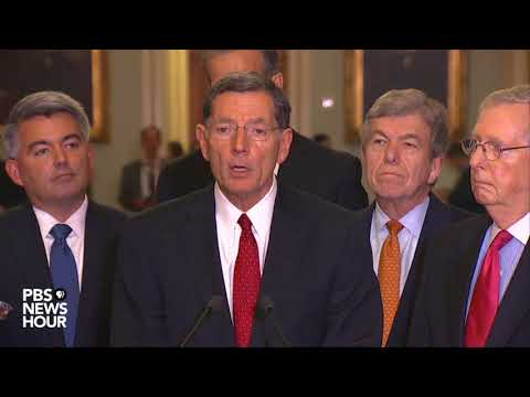 WATCH: Senate GOP leaders speak after party luncheon