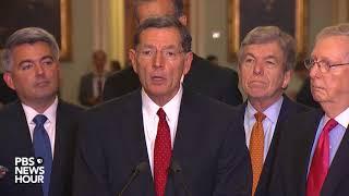 WATCH: Senate GOP leaders speak after party luncheon