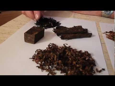 Différents tabacs à pipe
