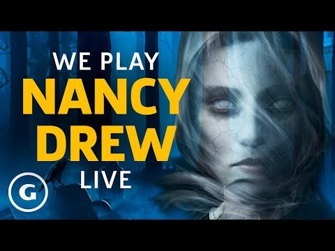 That's Right, There's A New Nancy Drew Game Baby! | GameSpot Live