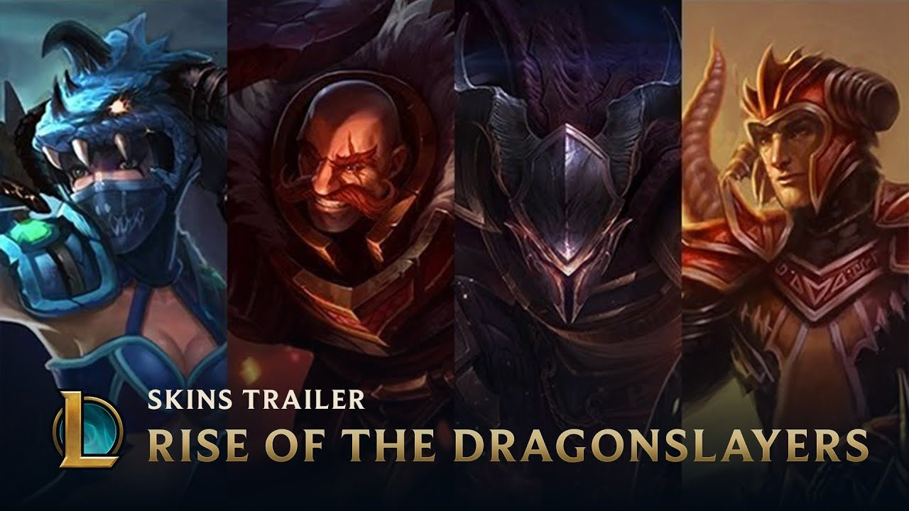 Dragonslayer Pantheon and Braum available now | League of