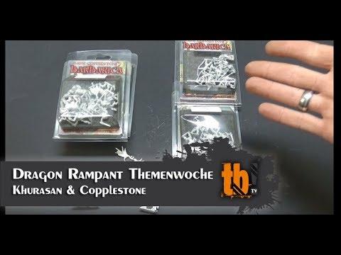 Dragon Rampant Themenwoche: Unboxing Khurasan Miniatures & Copplestone  Castings