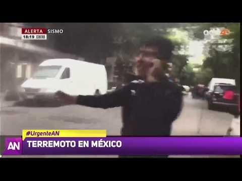 Terremoto 7,2 en México
