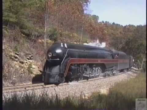 N&W 611 Charlotte To Asheville Via Saluda 10/25/92