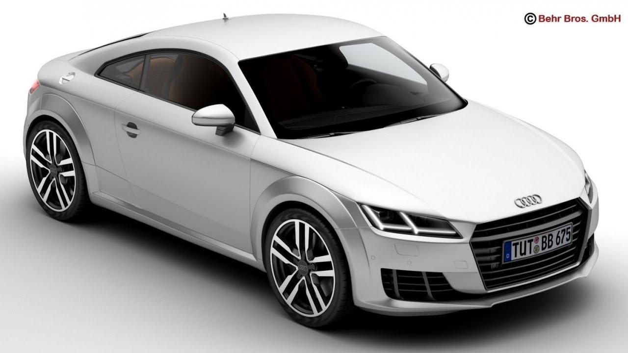 3D Model Audi TT Coupe 2015 at 3DExportcom  YouTube