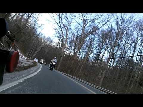 Leaving Great Falls, Va Motorcycles
