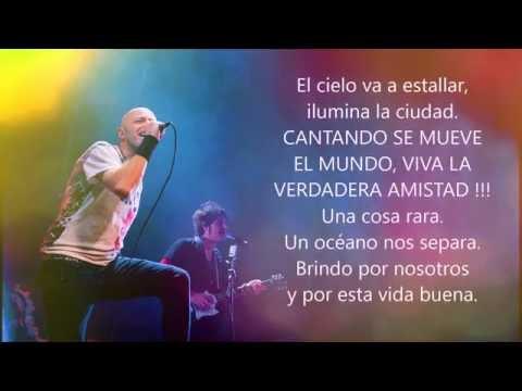 Gioia Infinita - Negrita feat. Juanes (TESTO)