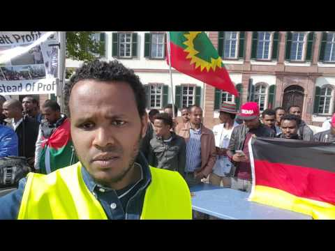 Hiriira Oromoo German magaala Darmstadt 29/04/2017