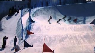 藤森由香 順々決勝 転倒!ソチ冬季五輪 藤森由香 動画 11