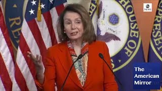 Pelosi suffers brain freezes, says 'Opama', confused about who brings bill to floor thumbnail