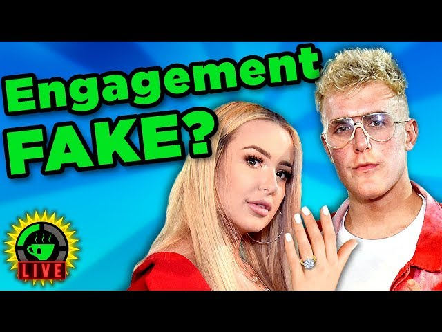 GTeaLive: Is the Jake Paul and Tana Mongeau Engagement FAKE?