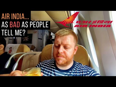 AIR INDIA Review - 787 Dreamliner Business Class (Delhi-Kolk
