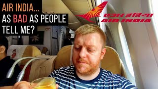 AIR INDIA Review - 787 Dreamliner Business Class (Delhi-Kolkata)