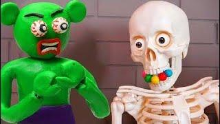 悪い子供たちと悪い幽霊は子供のための色を学ぶ赤ちゃんの歌の子供のための保育園