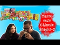 Indians Taste Test Chinese Snacks PART 2