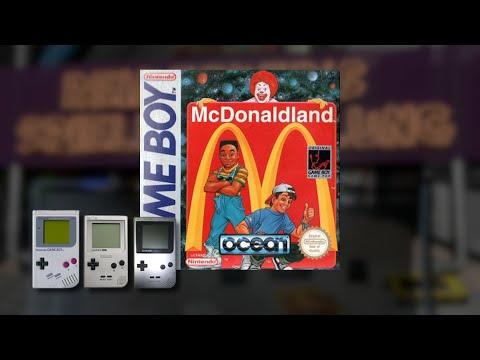 Gameplay : McDonaldland [Gameboy]