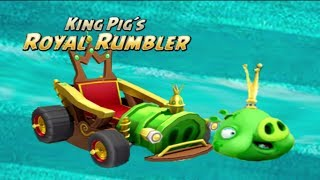Angry Birds GO! Character King Pig´s Royal Rumbler Animation