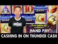 ⚡Thunder CASH Jackpot ⚡ Cashing In A Handpay on THUNDERCASH!