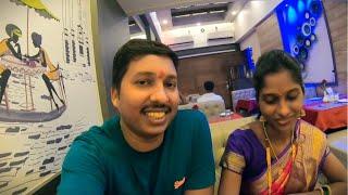 दुपारच्या जेवणात वांग्याचे काप 😍   रात्रीचे जेवण हॉटेलात Hotel In Panvel नवी मुंबई ( New Mumbai)