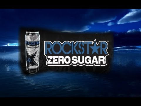 Rockstar Zero Sugar (Null Zucker) Energy Drink Test Review German