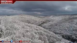 İstanbul da kar yağışı