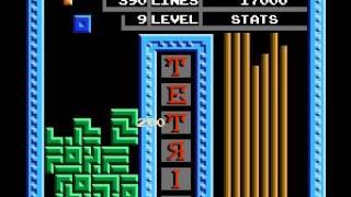 Tetris (tengen) - highscore run ( video 2) - User video