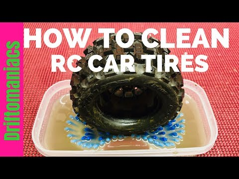How To Clean RC Car Tires - THE EASY WAY!