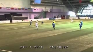 украина (U-17) - Финляндия (U-17) - 2:2. Обзор матча турнира Development Cup (24.01.2015)