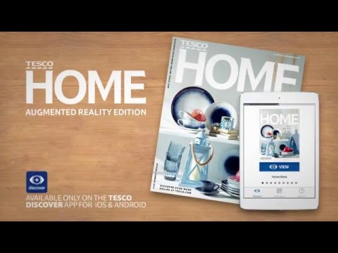 TESCO: Home Book Augmented Reality publishing