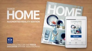 TESCO: Home Book Augmented Reality publishing