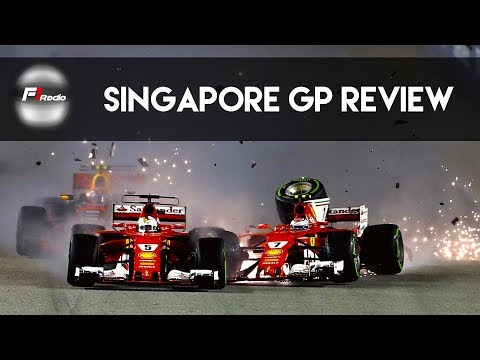 Singapore Grand Prix 2017 Review - F1 Radio Ep. 2