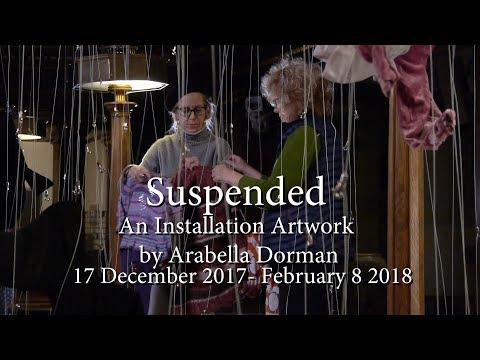 "London ""Suspended"" - An Installation Artwork by Arabella Dorman"