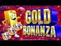 Gold Bonanza Slot Machine Bonuses Won - $6 Max Bet   Live Slot Play   Las Vegas Wynn